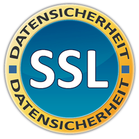 Unser Shop ist verschlüsselt durch SSL